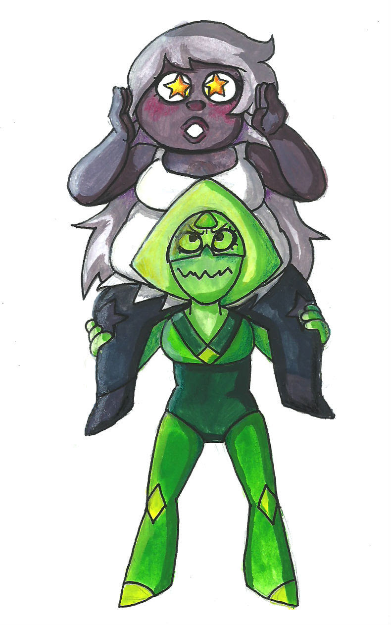 Please…let amethyst do the star-eye thing again…