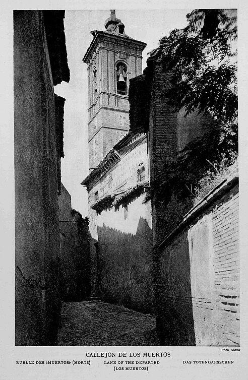 Iglesia de San Lorenzo (Toledo) en los años 20. Foto Aldus.