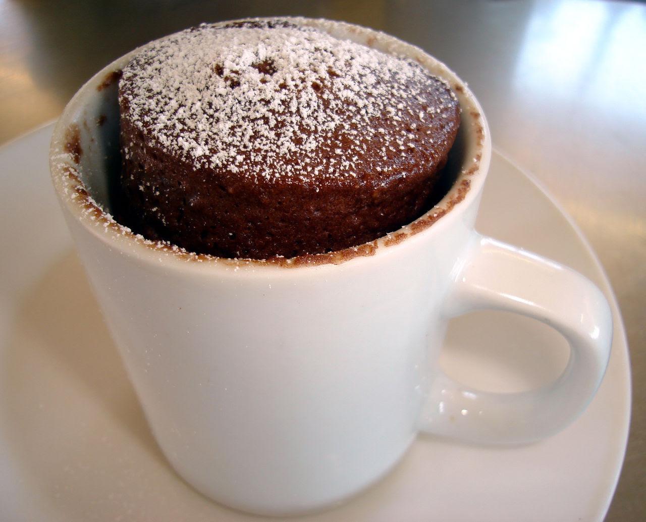 Printable Microwave Chocolate Cake in a Mug Recipe (plus a ...