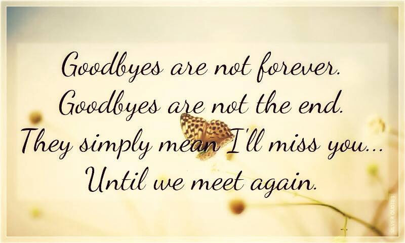 Quotes About Till We Meet 19 Quotes