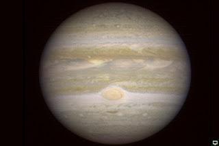 Júpiter visto desde Marte