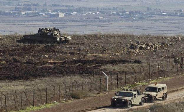 Patrullas Militares en Altos del Golan