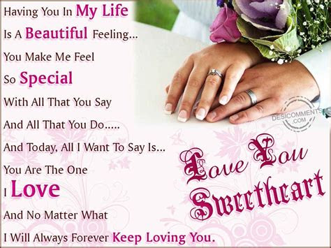 Love U My Sweetheart Quotes