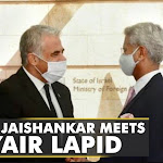 Indian EAM S Jaishankar meets Israeli counterpart Yair Lapid | WION Latest News | World News