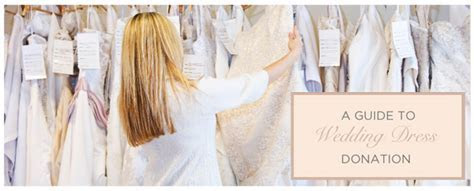 Donate Your Wedding Dress   Options to Help Make A