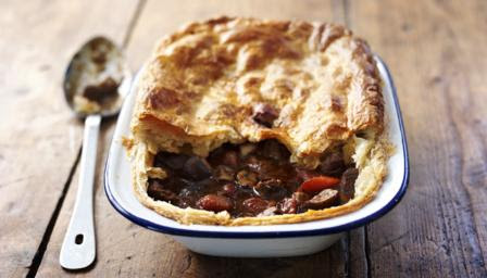 BBC Food - Recipes - How to make steak and ale pie
