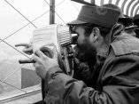 23 de abril. Fidel visita el Empire State, en New York. Foto: Revolución