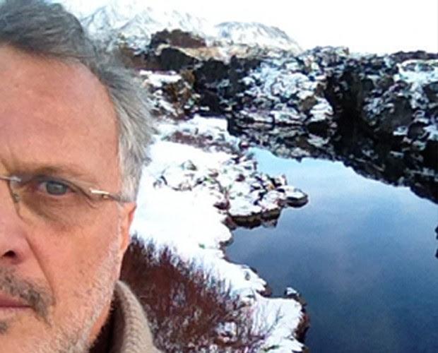 Pedro Bial em foto selfie (Foto: Arquivo Pessoal)