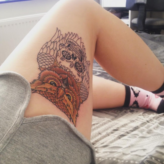 115 Best Thigh Tattoos Ideas For Women Designs Meanings 2019