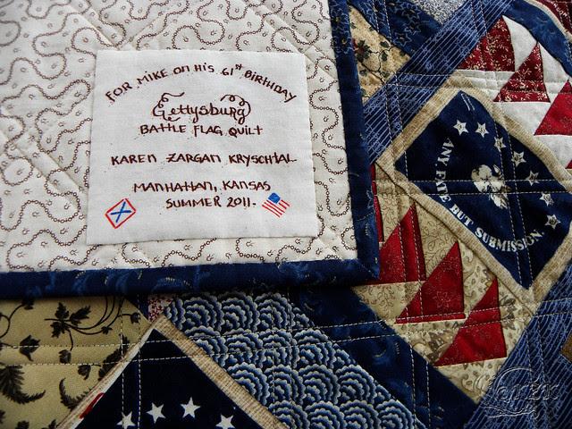 DSCN2113 Gettysburg Battle Flag quilt