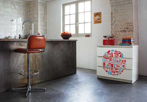 Dormitorio muebles modernos vinilo para mueble for Vinilos armarios dormitorio