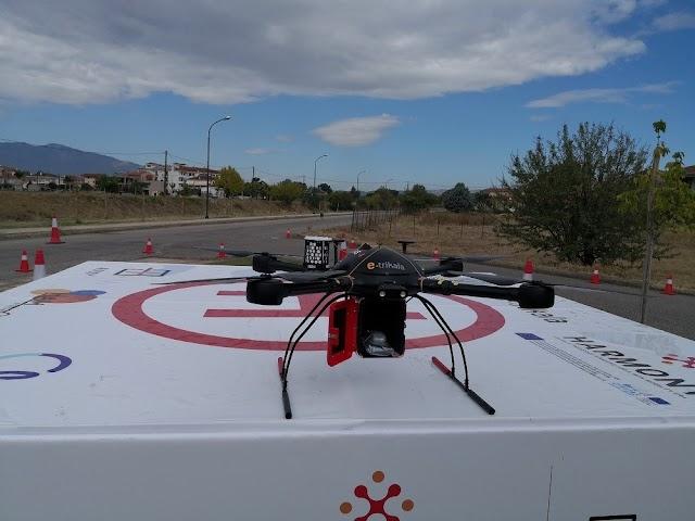 Respect ξανά στα Τρίκαλα: Με drone μεταφέρoυν τα φάρμακα στα χωριά του νομού [βίντεο]