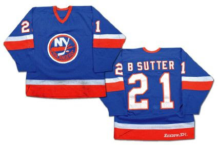 New York Islanders 81-82 Brent S jersey, New York Islanders 81-82 Brent S jersey