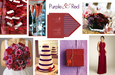 Tastefully Entertaining Event Ideas Inspiration Red Purple