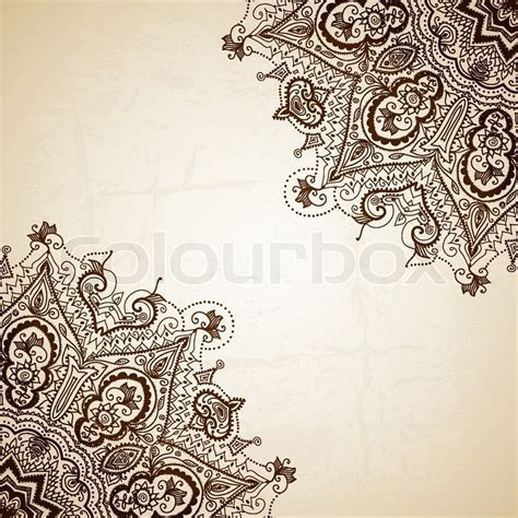 Vintage vector pattern. Hand drawn     Stock Vector