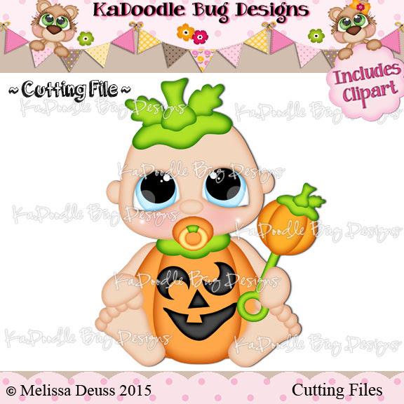Charmkin Cuties - Pumpkin Baby