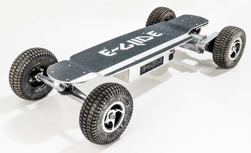 How About an AllTerrain ESkateboard for a Change?  autoevolution