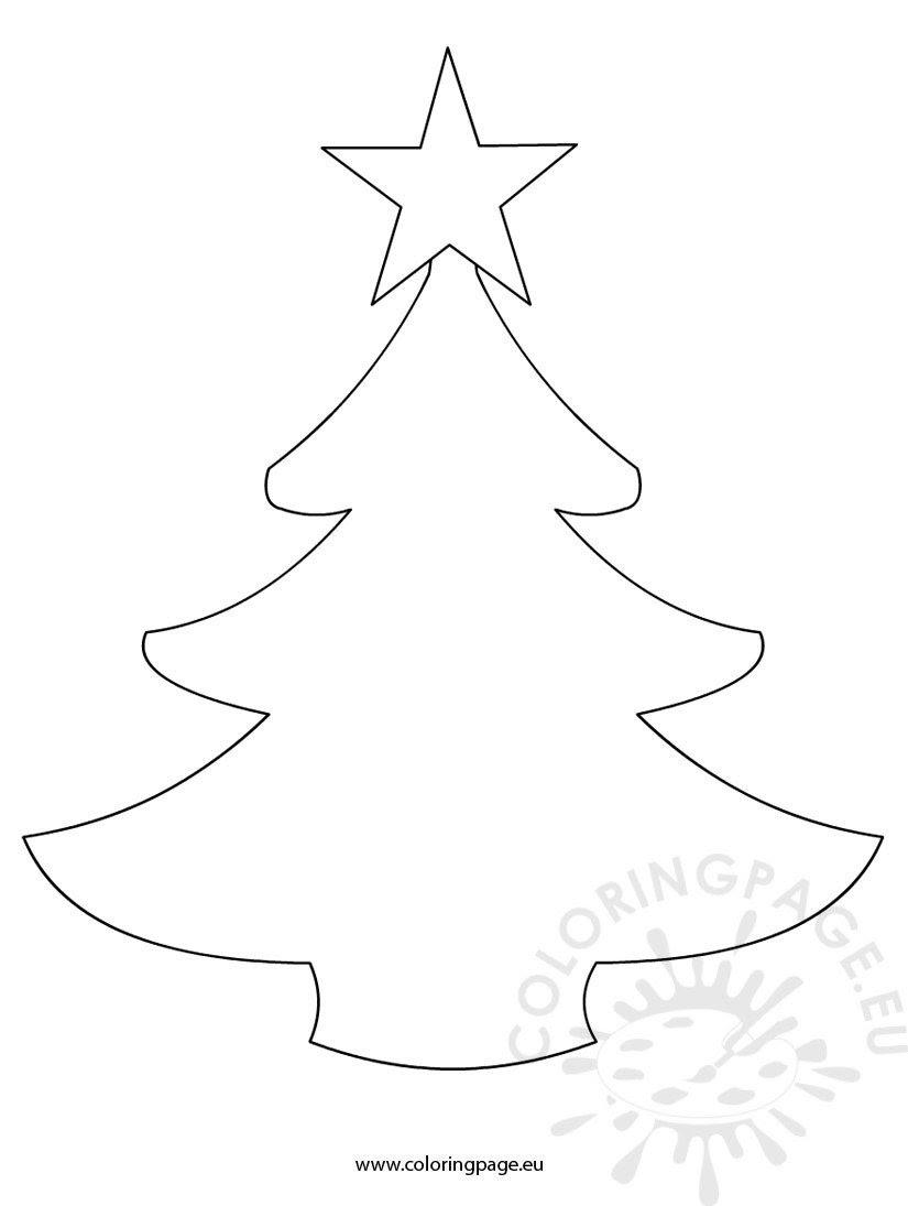 Simple Christmas Tree Drawing at GetDrawings | Free download