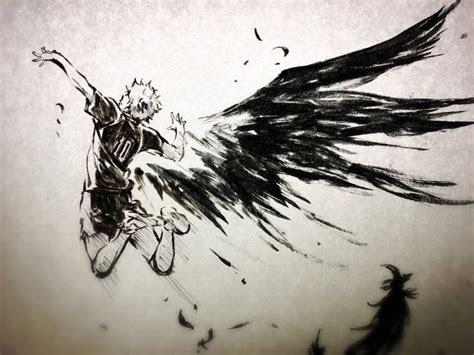 dessin de hinatashoyo de haikyu par atniuya haikyuu