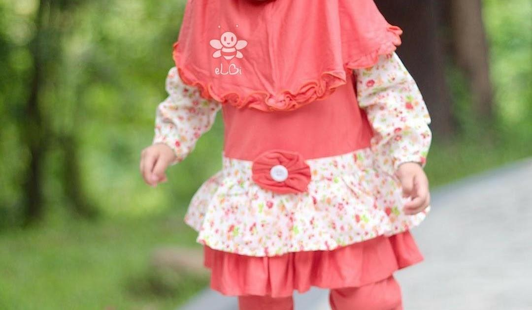 Model Baju Muslim Balita Perempuan  445de51da4