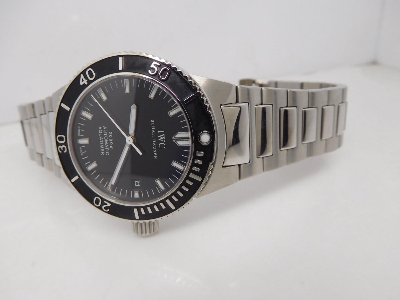 Replica IWC GST Aquatimer Steel Watch