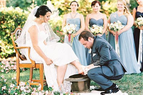 Wedding Tradition :: Foot Washing Ceremony   Snippet & Ink
