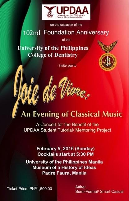Joie de Vivre An Evening of Classical Music