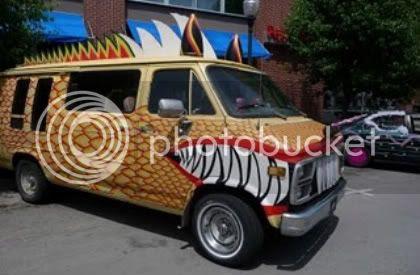 Dragonized Van