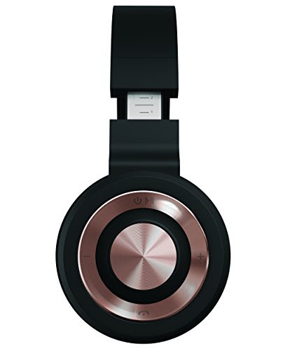 Sharper Image Sbt558bkgm Bluetooth Wireless Headphones With Mic And