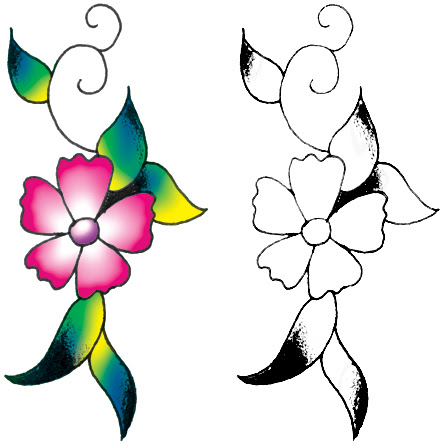 Free Pictures Of Flower Tattoo Designs Download Free Clip Art Free