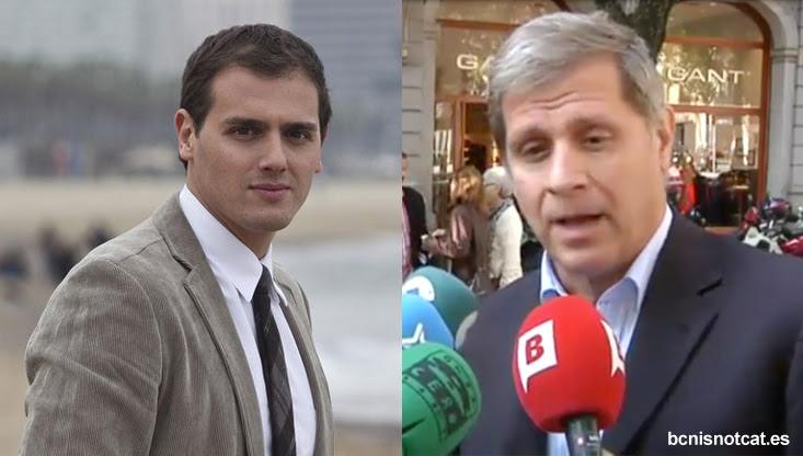 Albert Rivera y Alberto Fernández Díaz, dos de los políticos que más han defendido la autonomía de Barcelona.