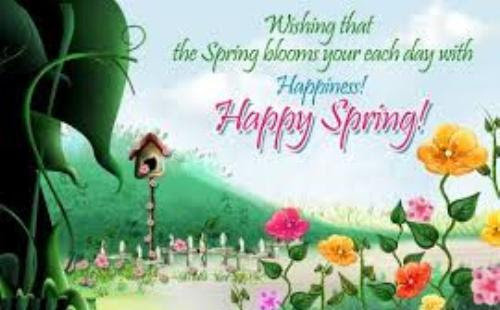 Spring Quotes To Welcome The First Day Of Season