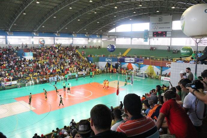 Jogo da final da Copa TV Grande Rio entre Trindade e Cabrobó (Foto: Amanda Lima)