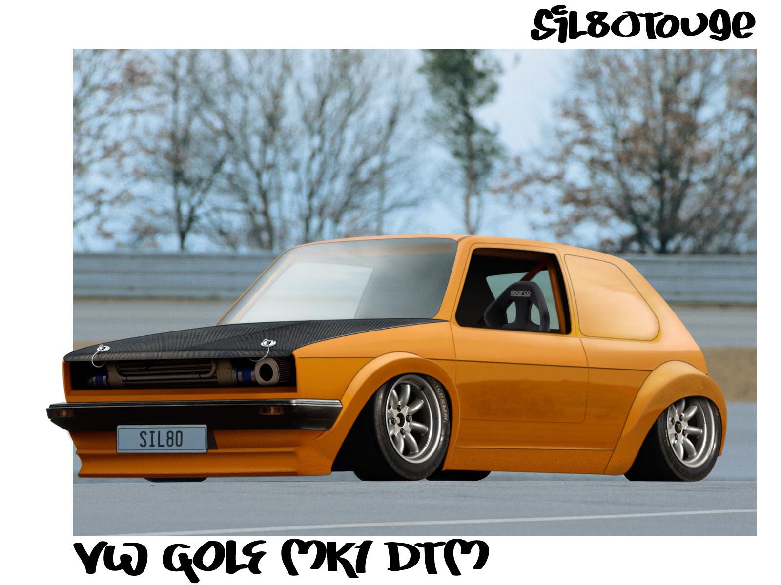 VW GOLF MK1 DTM by ~sil80touge