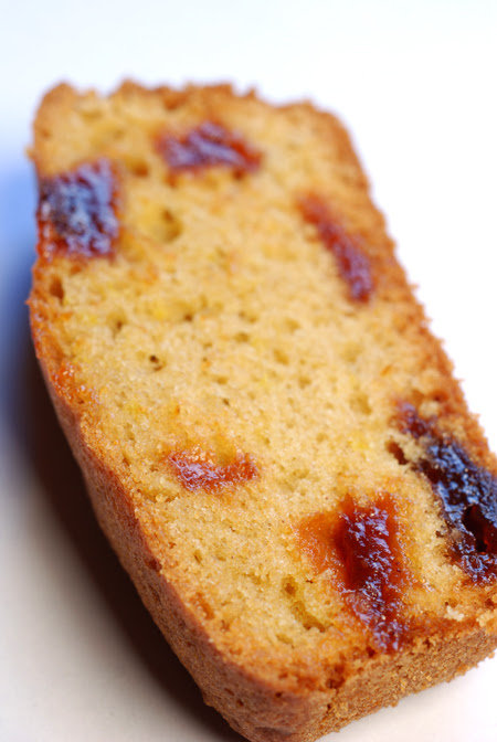Quince Paste and Olive Oil Cake© by Haalo