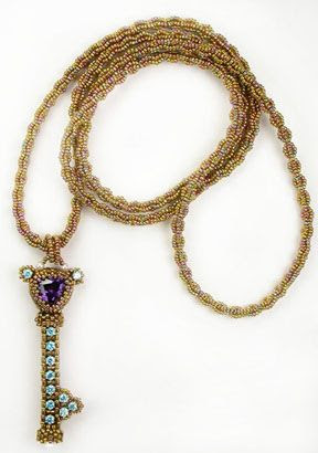 Cynthia Rutledge Beadwork & Workshops - Keyed Up: The Key of Secrets Workshop