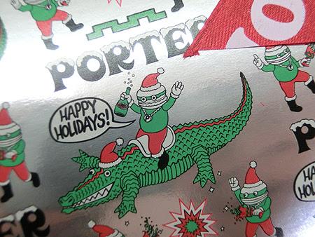 松菱 クリスマス,ポーター クリスマスギフト,クリスマスプレゼント ポーター2014,2014クリスマスギフト ポーター