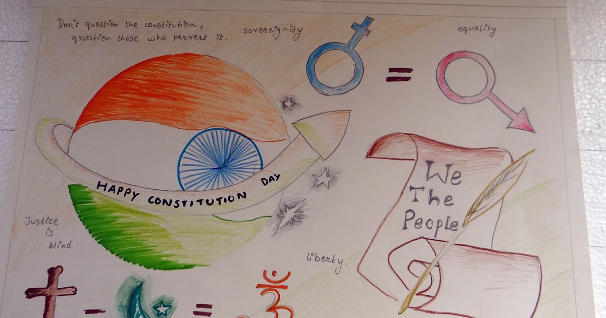 35 Ideas For Drawing Constitution Of India Poster Making Insatiabl Readers