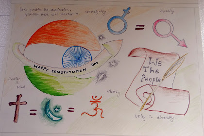40+ Most Popular Handmade Constitution Of India Poster Making