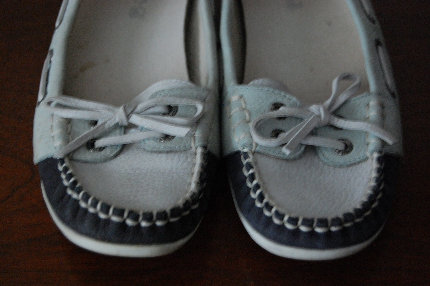 Vintage DOCK ON THE RIVER Sperry Topsiders Boat Shoes SALE
