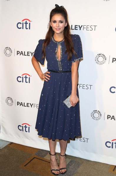Nina Dobrev - 'The Vampire Diaries' Honored at PaleyFest