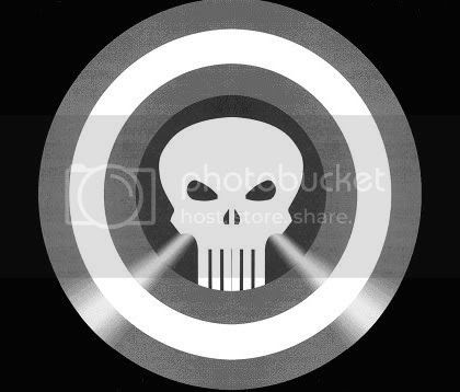 Capitão América + Justiceiro