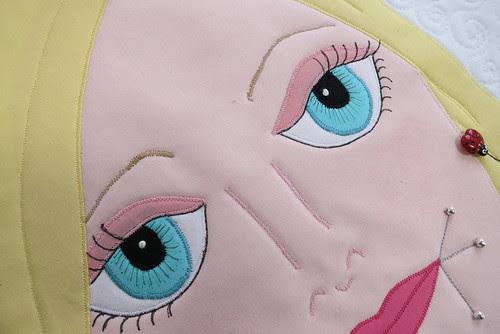 Stephanie's pretty eyes