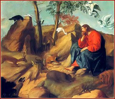 Cristo en el desierto