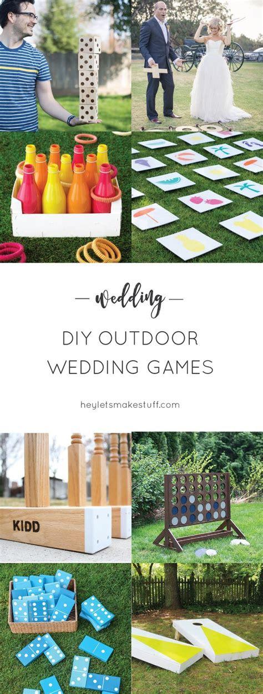 lawn games wedding ideas  pinterest outdoor