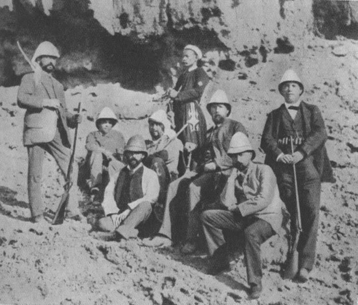 Ficheiro:Robert Koch (Deutsche Cholera-Expedition in Ägypten 1884).jpg