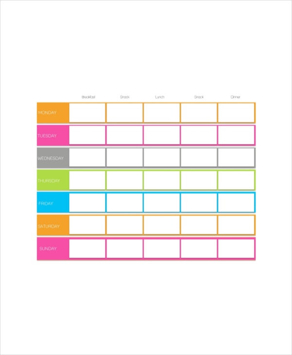 Daily Schedule Cute | Daily Planner