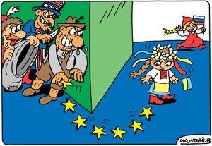 Grosse claque pour l'Ukraine