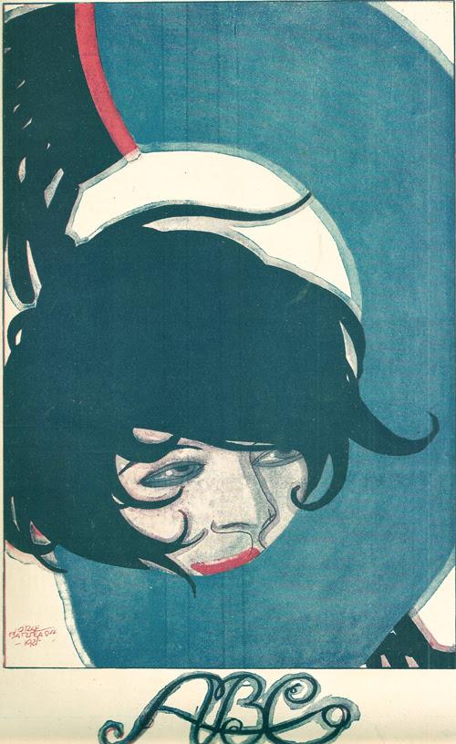 Jorge Barradas, ABC magazine, 1922 - cover