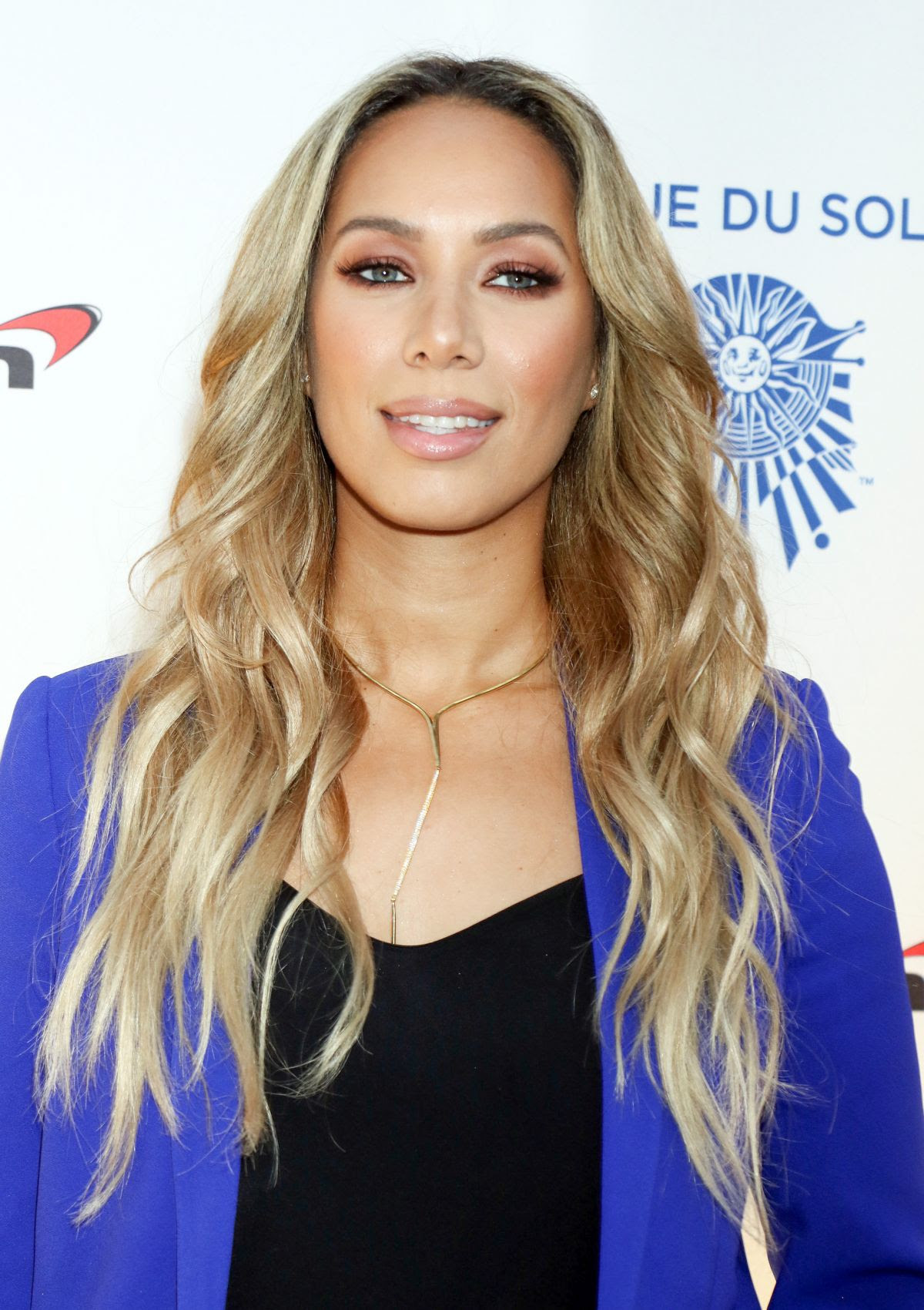 LEONA LEWIS at One Night for One Drop Blue Carpet in Las Vegas 03/19/2016